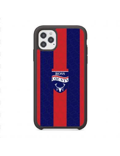 Ross County FC Logo Striped...